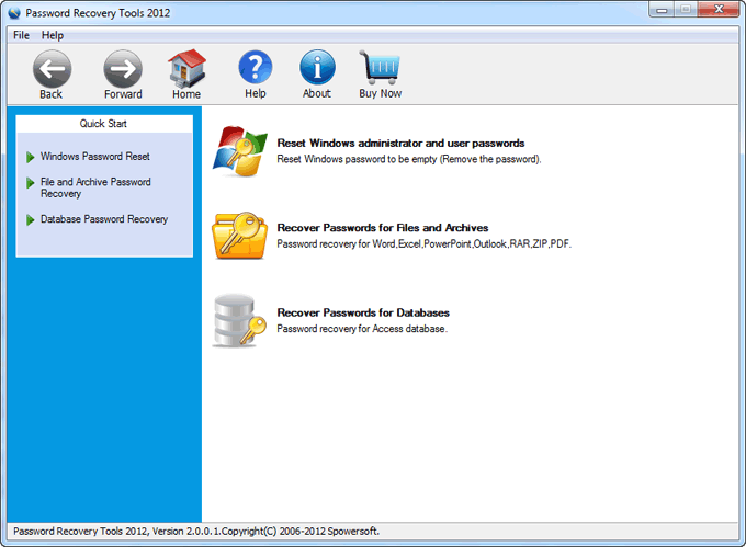 Password Recovery Suite 2012 Guide