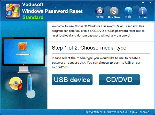 Windows 8 password reset without disk