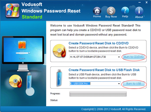 Windows Vista Password Reset - How to when forgot password