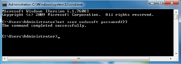 windows 7 professional password reset without disk