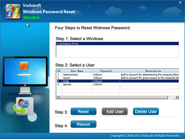 How to reset Windows 8 forgotten password