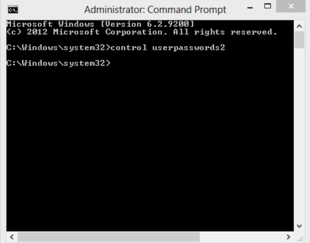 bypass windows 8 administrator password